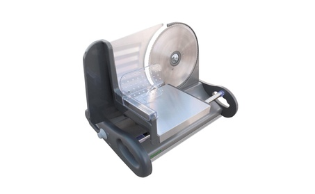 Shamrock X-Large 8.5 Stainless Steel Food Slicer w/ Speed Control 2c05cd5e-16ff-4319-bfc1-26a772db5888