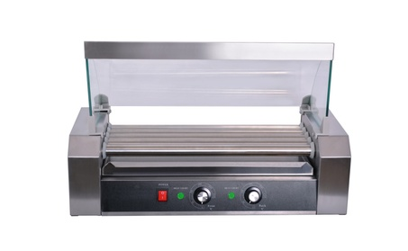 Hawk Commercial Hot Dog 5 Roller Grilling Machine with cover bfa7206d-7335-478e-86b5-0875b05901b8