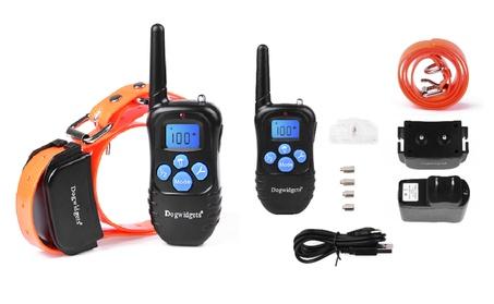 Dogwidgets DW-17 Remote Dog Training Shock Collar Vibration Beep 6cdcdf16-4acf-43bb-8a19-b0418cf21b4f