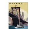Lantern Press 'New York 1' Canvas Art