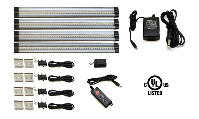 Lightkiwi E7574 Warm White Dimmable LED Under Cabinet Lighting