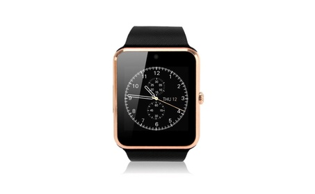 Pandaoo GT08 Bluetooth Smart Watch for Android Smartphones - Gold 48e386ad-407c-488a-93cf-cb6e1fe15457