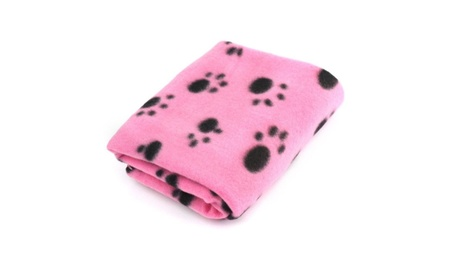 Pet Dog Cat Puppy Kitten Soft Blanket Warm Bed Mat Paw Print Cushion fd0ab0e5-7aa3-44ea-a654-ffd9498d002e