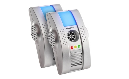 Hoont Ultrasonic Insect Rodent Control Eliminator + Night Light 2 Pack a69ea1cd-0165-4754-b395-35e1298b0b22