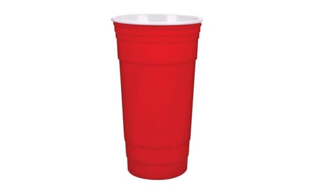 JMK 306007 32 oz Insulated Party Cup, Red - Pack of 24 d3a7dc9f-3a6b-47c3-b282-3b64b3e51efe
