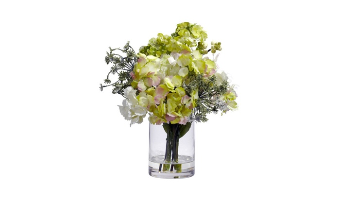 Up To 49 Off On Simple Bright Clear Vase Hydr Groupon Goods