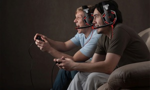Kotion Over-Ear Gaming Headset with Noise Cancelling Mic