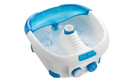 Spa Foot Bath Massager with Heat HF Vibration and Bubbles FB-300-THP