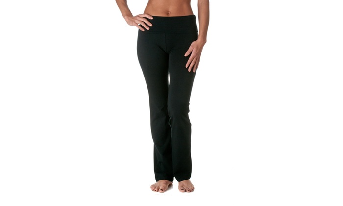 Zenana Fold Over Yoga Pants SP226-1