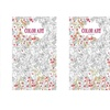 Color Art for Everyone Adult Coloring Book - 3 Pack