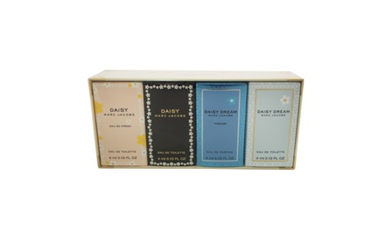 Daisy Variety by Marc Jacobs for Women - 4 Pc Mini Gift Set