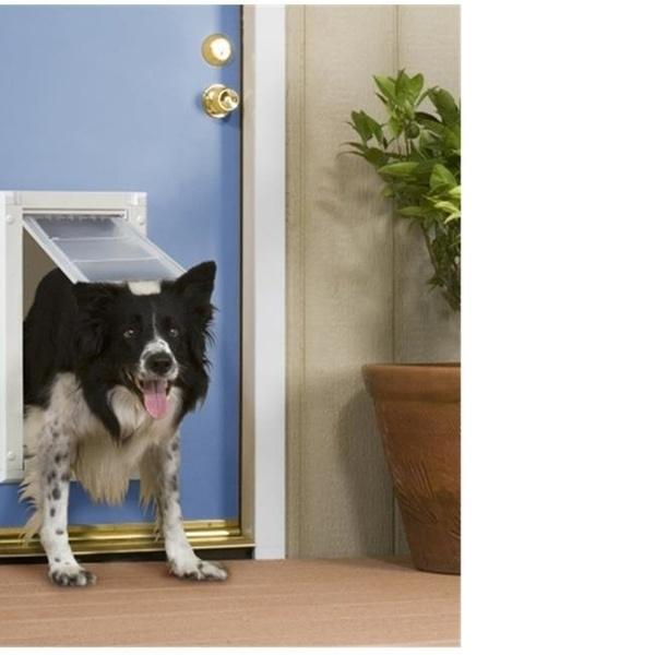 Patio Pacific 03PP08 2 Endura Flap Pet Door For Doors Number 08   Double  Flap | Groupon