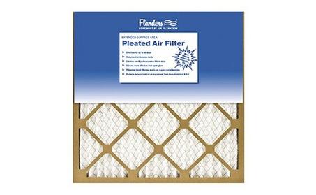 Flanders 81555.011625 Basic Pleated Air Filter - Pack Of 12 3fc1a123-d588-4992-84b3-4809953e6bea
