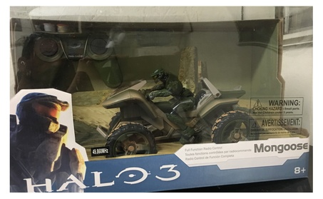 Halo Radio Control Mongoose with Master Chief Figure ee97c8b6-7aa2-4895-abee-9e9191d30493