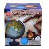 "11"" Dual Cartography LED Illuminated Globe"