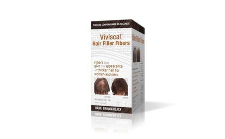 Hair Filler Fibers For Men & Women Dark Brown/Black Hair Care Styling