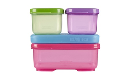 Rubbermaid LunchBlox Kids Pink Lunch Kit, Tall, Purple/Pink/Green 1d283f22-5561-4e8a-bc6c-4a4c4c5e6d10