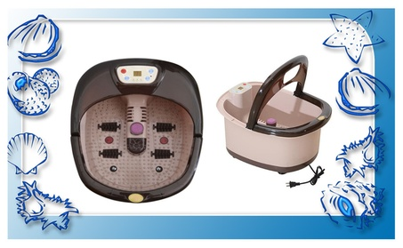 Superior Foot Spa Massager With Four Massage Rollers e2e74744-4828-4767-842d-539d5e53bcbd