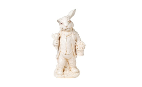 Kaldun and Bogle 040265 Antique Rabbit Figurine - Pack of 1 (Goods For The Home Seasonal Décor Christmas) photo