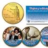 Barack Obama Presidential 24KT Gold Plated Hawaii Statehood Quarter 4-Coin Set