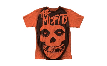 Ljing Men's The Misfits Stencil Skull Big Print Subway T-shirt 48bcbe5f-7c41-4cb3-bd92-7c0b91ce6ae8