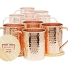 Moscow Mule Copper Mugs Set of 10 - (Classic)