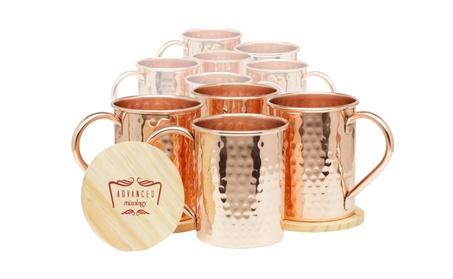 Moscow Mule Copper Mugs Set of 10 - (Classic) 8e7aee1d-1a7c-40be-aa8a-f04bd8c22c16