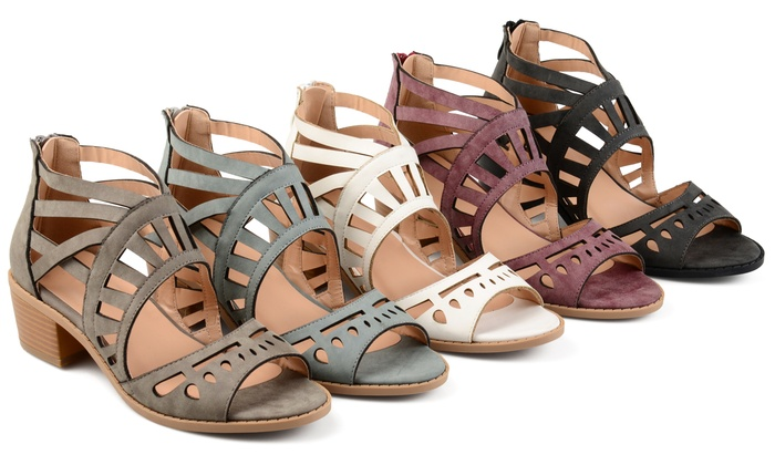 bf144a24630 Journee Collection Womens Dexy Sandal   Groupon