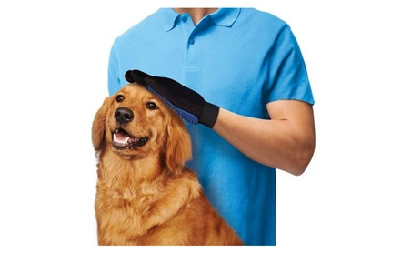 Pet Dog Cat Gentle Deshedding Brush Bathing And Grooming Glove 8324daef-872d-4ab3-97d5-403ef2e8e66f