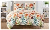 Love in bloom gbkq: Duvet Cover Set Brushed Microfiber Fabric 3-Piece King/Queen/Twin size