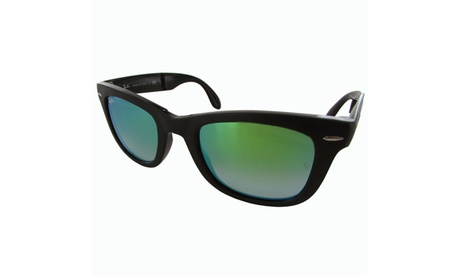 Ray Ban Mens RB4105 Wayfarer Folding Sunglasses 5f590b65-98eb-4f41-9d35-676bb4a7cd51