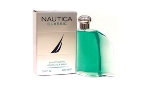 Nautica Classic Eau de Toilette for Men (3.4 Fl. Oz.)