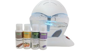 EcoGecko Color Wheel Air Cleaner, Humidifier, Revitalizer with oil