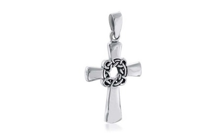 Bling Jewelry 925 Sterling Silver Celtic Cross Pendant 3f426179-93ef-4fa1-8d7b-97b8d3d03069