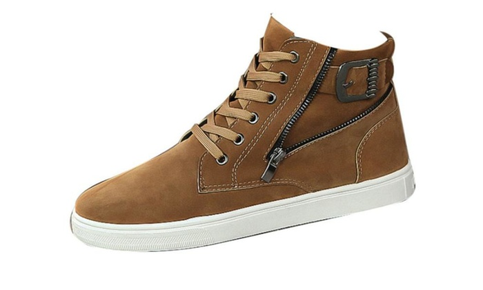 Men's Round Toe Breathable Fashion Shoes