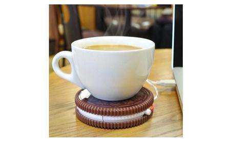 Oreo Cookie Shaped USB Cup Warmer 894887e9-e7ea-4af6-8d5c-7008a69f7b5a