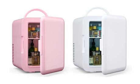 4 Liter Portable Makeup Skincare Mini Fridge