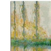 Claude Monet 'The Three Trees Autumn' Canvas Rolled Art