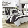 24 Piece Vincenza Complete Bedroom Set Bed In a Bag Comforter With sheet set
