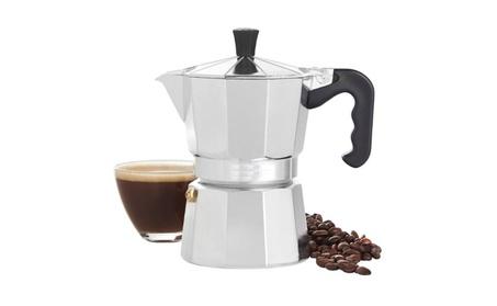 3 Cup Aluminium Espresso Coffee Maker 9858ab26-8b64-46d8-9c4c-99ed6b85028a