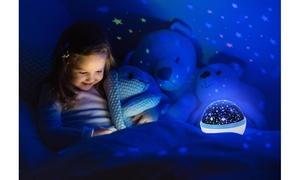 Kids' Rotating Starry Sky Projection Night Light