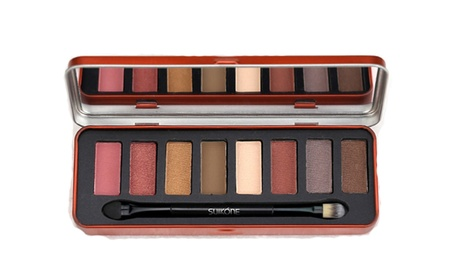 Women's Warm Color Eye Shadow Tin box 8 Color Eye Shadow Make-Up Essential a2ba42b5-9593-4984-aa32-dfae44ee1ef8