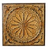Rusted Wall Medallion with Trim