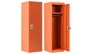 48'' Kid Safe Storage Children Single Tier Metal Lockers
