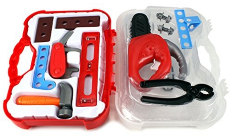 GT My First Tool Case Power Saw Children's Kid's Pretend Play Toy Tool Set 43458530-056e-4387-bd34-707c37582bae