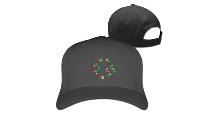A Tribe Called Quest Logo Baseball Cap Hats Black