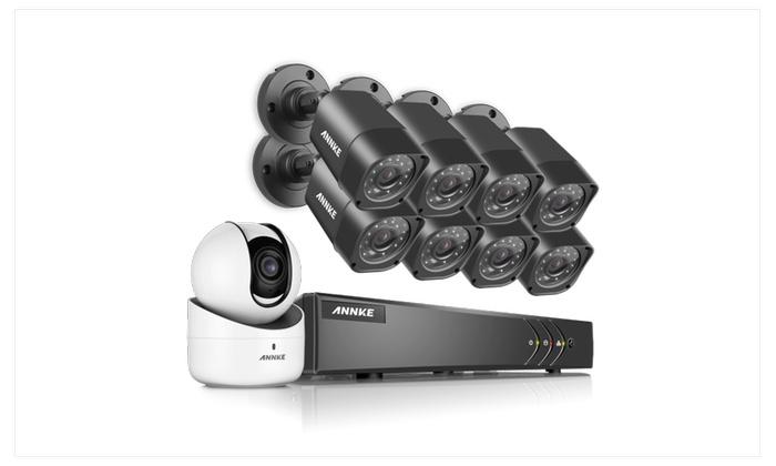 ANNKE 8CH TVI 720P Security System