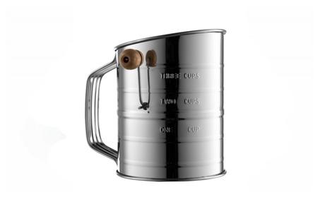 Bellemain Stainless Steel 3 Cup Flour Sifter e87faf0b-a48d-4c2a-8c72-da1d05c86832