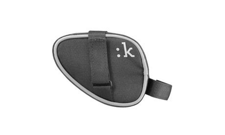 Fizik Small Bike Saddle Bag with Hook-and-Loop Straps (Anthracite)