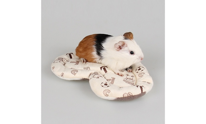 Love Fleece Guinea Pig Bed Winter Small Animal Cage Mat